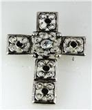 6030038 Christian Cross Brooch Lapel Pin Jesus Religious Bible