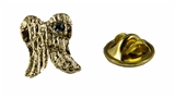6030041 Angel Wings Lapel Pin March Birthstone In Memory Of Tribute Honor
