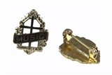 6030098 Silver Music Minister Church Lapel Pin Religious Church Ministry