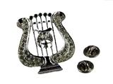 6030131 Shriner Musical Lyre Tassel Holder