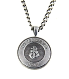 6030149 US United States Navy Necklace Medallion Armed Services Dogtag Dog Tag