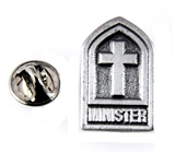 6030157 Minister Lapel Pin Clergy Pastor Priest Tie Tack