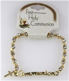 6030166 First Holy Communion Bracelet Gift Present Cross Religious Christening