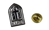 6030214 Minister Lapel Pin Tie Tack Brooch Church Cross Christian Ministry Pastor Clergy