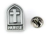 6030357 Nurse Lapel Pin RN LPN Tie Tack Brooch Collar Male or Female