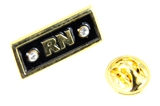 6030359 RN Lapel Pin Nurse LPN Tie Tack Brooch Collar Male or Female