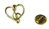 6030379 Music Note Lapel Pin Music Minister Volunteer Church Choir Lay Minist...