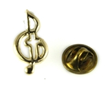 6030384 Music Note Lapel Pin Music Minister Volunteer Church Choir Lay Minist...