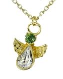 6030426 August Birthstone Angel Necklace Pendant Guardian Secret Appreciation...