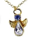6030430 December Birthstone Angel Necklace Pendant Guardian Secret Appreciati...