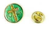 6030455 PUSH Pray Until Something Happens Lapel Pin Tie Tack Brooch Christian