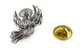 6030457 Healing Angel Lapel Pin Guardian Nurse Doctor Brooch Tie Tack RN Medical