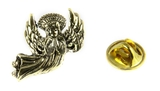 6030458 Healing Angel Lapel Pin Guardian Nurse Doctor Brooch Tie Tack RN Medical
