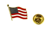 6030468 United States American Flag Lapel Pin US Made in USA Red White and Blue