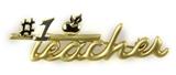 6030478 #1 Teacher Brooch Pin Teacher Appreciation Year End Gift Present
