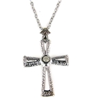6030512 Our Father Cross Necklace The Lord's Prayer Hidden Miniature
