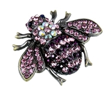6030549 Bumble Bee Pink & Purple MK Director Mary Consultant Kay Gift