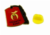 6030627 Shriner Fez Hat Lapel Pin Oriental Band Shrine Brooch Fezz