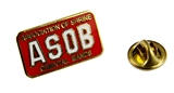 6030719 ASOB Association of Shrine Oriental Bands Lapel Pin Shriner Unit