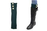 7030020 Tall Green 3 Button Boot Cuffs