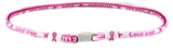 7030152 Breast Cancer Awareness Necklace Pink Cord Courage Hope Strength Ribbon