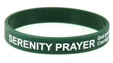 8090003 Set of 3 Serenity Prayer Silicone Bracelet Rubber God Grant Me AA ...