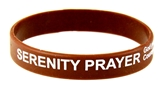8090004 Set of 3 Serenity Prayer Silicone Bracelet Rubber God Grant Me AA ...