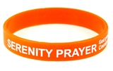 8090006 Set of 3 Serenity Prayer Silicone Bracelet Rubber God Grant Me AA ...