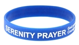 8090008 Set of 3 Serenity Prayer Silicone Bracelet Rubber God Grant Me AA ...