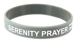 8090009 Set of 3 Serenity Prayer Silicone Bracelet Rubber God Grant Me AA ...