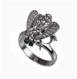 403 Stainless Steel Bumble Bee Ring