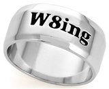 SH060BNNH W8ing Purity Promise Abstinence Engraved Band