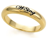 SH061BNNB W8ing Purity Promise Abstinence Engraved Narrow Band
