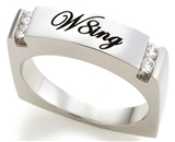 SH063BNNH W8ing Purity Promise Abstinence Ring