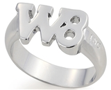 SH058BNNH W8ing Purity Promise Abstinence Ring