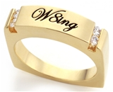 SH063BNNB W8ing Purity Promise Abstinence Ring